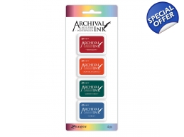 Archival Mini Ink Pads Kit 1 - PRE-ORDER