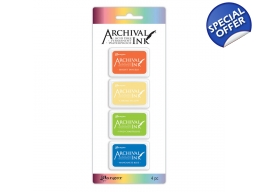 Archival Mini Ink Pads Kit 3 - PRE-ORDER
