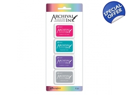 Archival Mini Ink Pads Kit 4 - PRE-ORDER