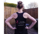 Ladies Black Running Vest