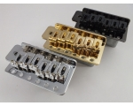 Chrome Tremolo Bridge & Screws, Black or Gold f..
