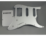 HSS Mirror Chrome Scratch Plate Pickguard Set f..