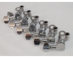 Chrome Machine Heads 6 in line for Stratocaster ..