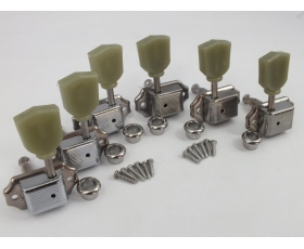 CHROME 3-a-side Vintage Machine Heads for Gibson style guitars