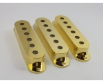 GOLD Single Coil Pick Up Covers 52mm or 50mm spa..