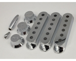 CHROME Pickup Covers 52mm or 50mm, Knobs & Tips ..