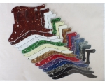 SSS Scratch Plates Pickguard 14 Cols for Squier ..
