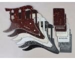 Left Handed HSS Scratch Plate Pickguard SET for ..