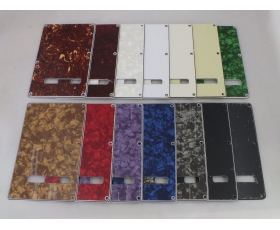 Trem Back Plate Covers 14 Colours for Squier or Import Stratocaster