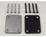 Neck Plate & Screws Chrome or Black for Strat Te..
