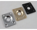 SQUARE Jack Plate to fit Les Paul or Tele Style..