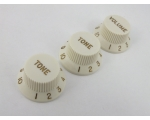 Parchment Volume & Tone Knobs for Stratocaster ..