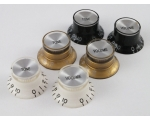 Bell REFLECTOR KNOBS Top Hat 4 Colours for Gibs..
