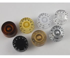 SPEED DIAL Knobs to fit Gibson/Epiphone style guitars in 7 Colours