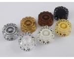 Knurled Speed Dial Knobs for USA Gibson Guitars ..