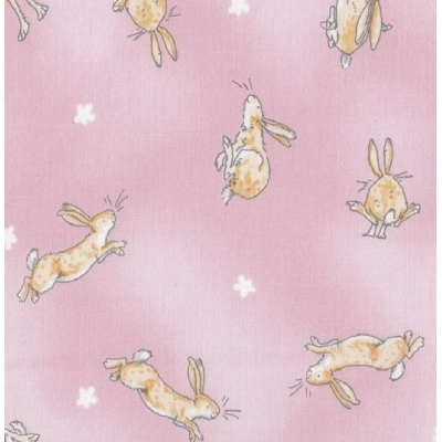 Guess how much I love you - tossed hares light pink