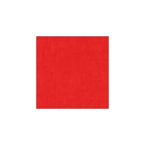 Makower Linen Texture - Red
