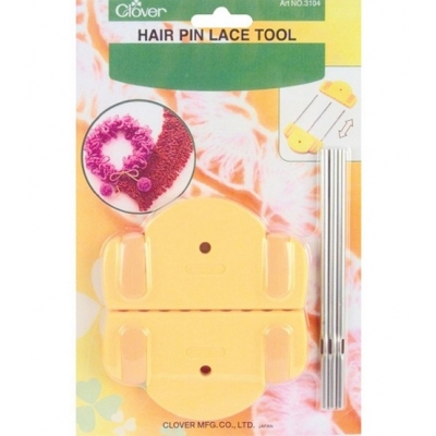 Clover Hairpin Lace Tool