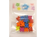 Children´s Wooden Flower Beads
