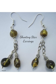 "Baltic Amber Earrings "".."