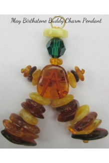 Baltic Amber Swarovski MAY