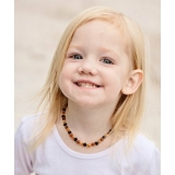 Baltic Amber Baby RAW Teething Necklac..