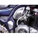 Suzuki CHROME CRANKCASE BREATHER 1200 600 BANDIT GSXR STREETFIGHTER NEW