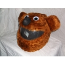 MOTORBIKE FUNNY HEEDS CRAZY CRASH HELMET COVERS MOTORCYCEL  bear