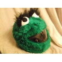 MOTORBIKE FUNNY HEEDS CRAZY CRASH HELMET COVERS MOTORCYCLE COVER THE GROUCH