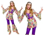Hippie Chick Costume - 1960s/70s Hippy Woman