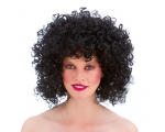 80s Disco Perm Black
