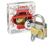 Houdini Puzzle Lock - Ace Of Hearts New Design -..