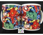 Marvel Super Heroes Collage Mug