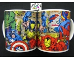 Marvel Super Heroes Comic Strip Mug