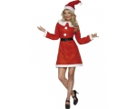 Miss Santa Costume - Ladies Father Christmas - M..