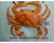 Crab Orange Life Size Prop