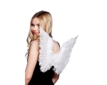 Angel Wings Feather - Small White