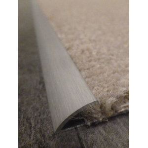 Satin Effect Single Carpet Grip Door Strip