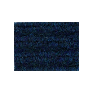 Rib Door Mat Heavy Duty 1m wide  Deep Blue