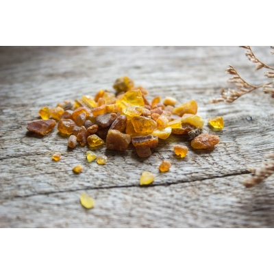 Amber Incense / Raw Natural Baltic Amber Pieces - 10g