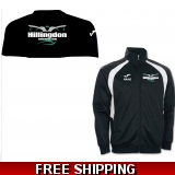 Hillingdon swimming club tracksuit top..