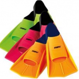 Maru/Arena Short Fins, green, orange o..