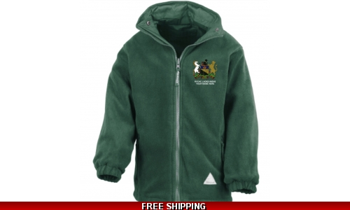 RVC Hockey Unisex Fleece, full or 1/4 zip