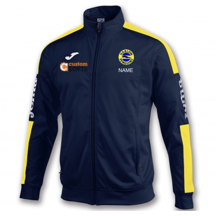 Harlow Penguins tracksuit top full zip