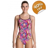Funkita Crystal clash girls diamond back