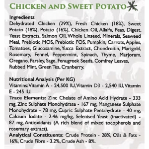 Grain Free - Chicken and Sweet Potato 12kg   -  including delivery in the UK