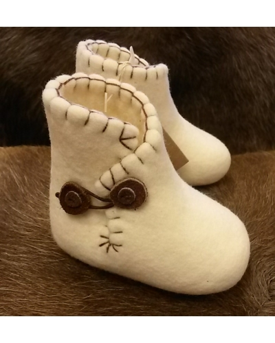Clemente Baby Slippers