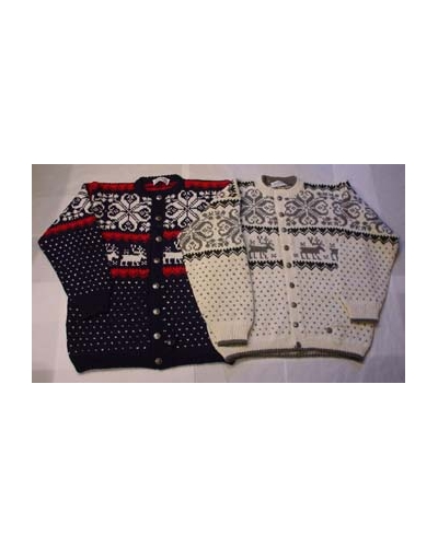 "Men Cardigan ""Rein/Rose"""