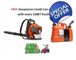 Husqvarna 130BT Professional Backpack Blower RRP..