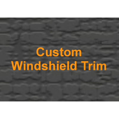 Custom Windshield Trim